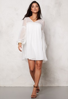 VILA Livaco Dress Snow White Bubbleroom.no
