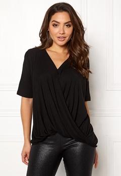 VILA Lolla S/S T-shirt Black Bubbleroom.se