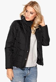 VILA Lonar New Padded Jacket Black Bubbleroom.se