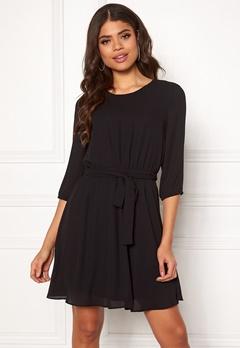 VILA Lucy 3/4 Sleeve Dress Black Bubbleroom.se