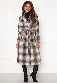 VILA Lulus Wool Coat Simply Taupe : Check Bubbleroom.se