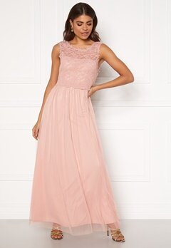 VILA Lynnea Maxi Dress Pale Mauve Bubbleroom.se