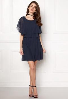 VILA Magile s/s Dress Total Eclipse Bubbleroom.fi