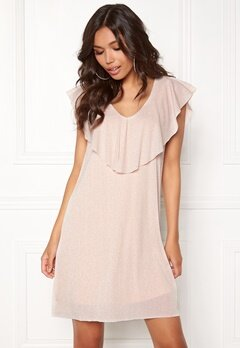 VILA Maka s/l Dress Silver Peony Bubbleroom.se