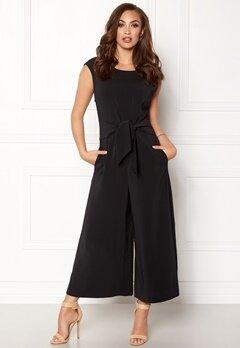 VILA Melis Cropped Jumpsuit Black Bubbleroom.no