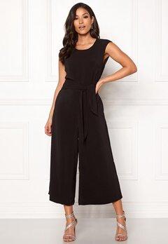 VILA Melis New Jumpsuit Black Bubbleroom.se
