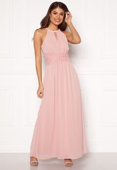VILA Milina Maxi Dress Pale Mauve Bubbleroom.se