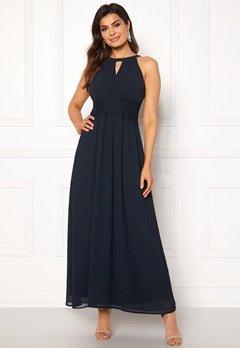45024550bb02 VILA Milina Maxi Dress Total Eclipse Bubbleroom.se