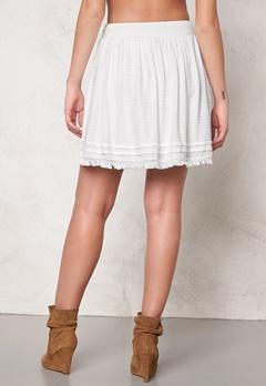 VILA Modi skirt Snow White Bubbleroom.se