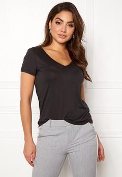 VILA Noel S/S T-shirt Black Bubbleroom.se