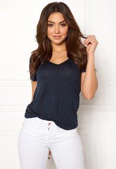 VILA Noel S/S T-shirt Total Eclipse Bubbleroom.se
