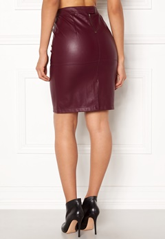 VILA Pen New Skirt Fig Bubbleroom.se