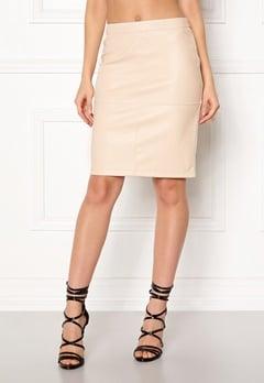 VILA Pen New Skirt Sandshell Bubbleroom.fi