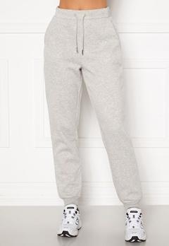 VILA Pera HW Sweat Pant Super Light Grey Mel Bubbleroom.se