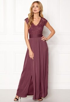 VILA Ponny Maxi Dress Renaissance Rose Bubbleroom.fi