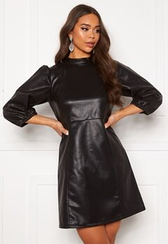 VILA Pumida 3/4 Short Dress Black bubbleroom.se