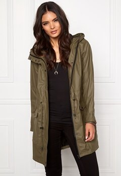 VILA Raina Coat Ivy Green Bubbleroom.se