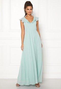 VILA Rannsil S/L Maxi Dress Blue Haze Bubbleroom.se