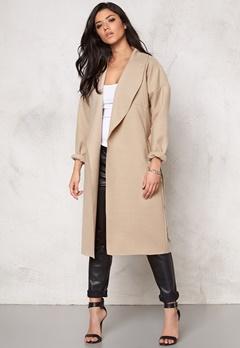 VILA Resin Jacket Soft Camel Bubbleroom.se