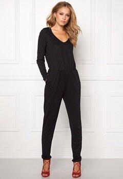 VILA Resti L/S Jumpsuit Black Bubbleroom.eu