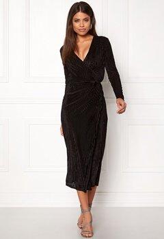 VILA Sainto Velvetine Dress Black Bubbleroom.no