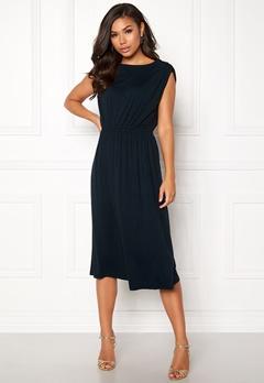 VILA Samja S/L Dress Total Eclipse Bubbleroom.se