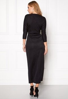 VILA Sans Long Dress Black Bubbleroom.no