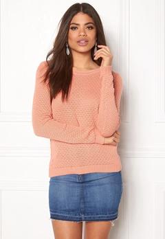 VILA Share knit top Rose Dawn Bubbleroom.fi
