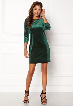 VILA Sienna 3/4 Sleeve Dress Pine Grove Bubbleroom.se