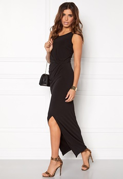VILA Silia maxi dress Black Bubbleroom.no