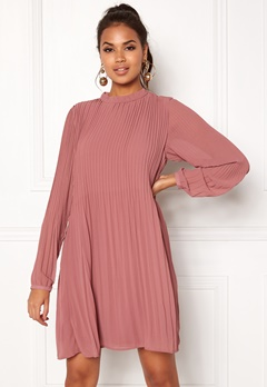 VILA Slet L/S Dress Renaissance Rose Bubbleroom.se