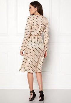 VILA Soap L/S Dress Sandshell Bubbleroom.se