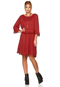 VILA Strength Dress Rosewood Bubbleroom.se