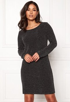 VILA Tinny Luosquare New Dress Black Bubbleroom.se