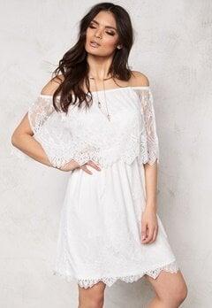 VILA Troya Dress Snow White Bubbleroom.eu