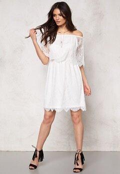 VILA Troya Dress Snow White Bubbleroom.fi