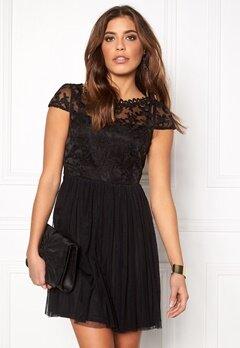 VILA Ulricana short dress Black Bubbleroom.se