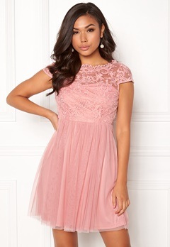 VILA Ulricana Short Dress Bridal Rose Bubbleroom.se