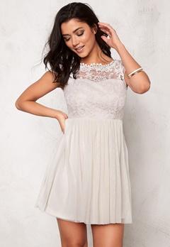 VILA Ulricana Short Dress Moonbeam Bubbleroom.no