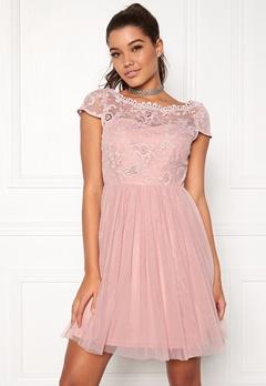 VILA Ulricana Short Dress Pale Mauve Bubbleroom.eu