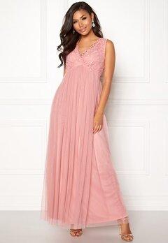 VILA Ulricana S/L Maxi Dress Bridal Rose Bubbleroom.se