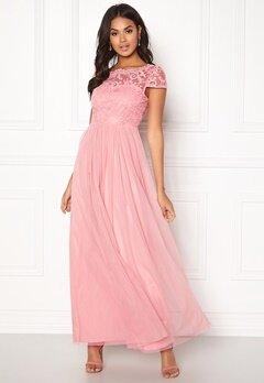 VILA Ulricana s/s Maxi Dress Bridal Rose Bubbleroom.se