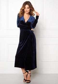 VILA Velvetine Dress Total Eclipse Bubbleroom.se