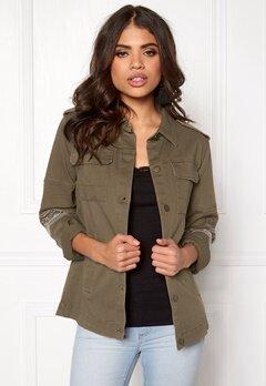 VILA Viabell jacket gv Ivy Green Bubbleroom.se