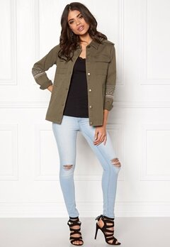 VILA Viabell jacket gv Ivy Green Bubbleroom.eu