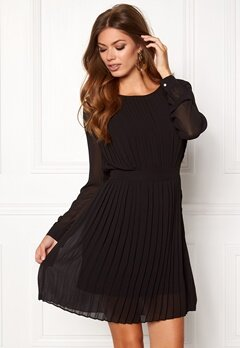 VILA Vimillie Dress Black Bubbleroom.fi