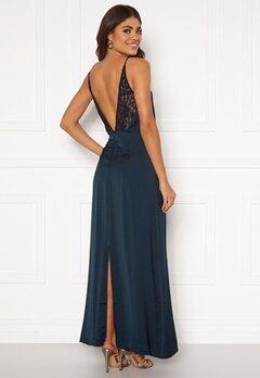 VILA Vinupa S/L Maxi Dress Total Eclipse Bubbleroom.se