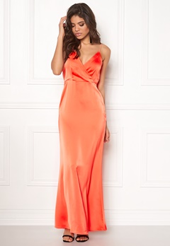 VILA Vioccasion Maxi Dress Persimmon Bubbleroom.fi