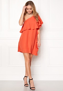 VILA Vipaly Dress Persimmon Bubbleroom.no