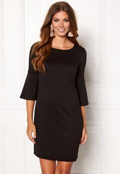 VILA Virufflesleeve Dress Black Bubbleroom.no